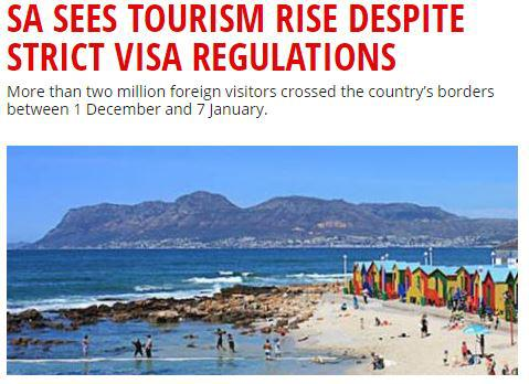 Tourism on the increase?
