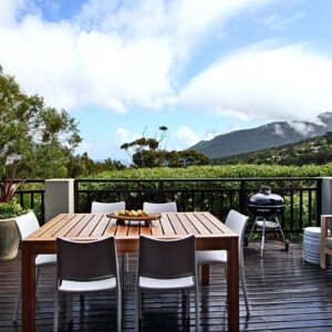 Mountain Lodge - Deck & Outdoor dining