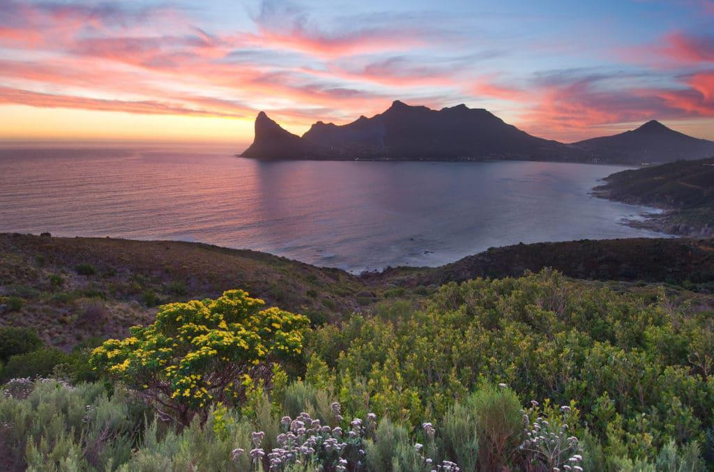 Sunset in Hout Bay