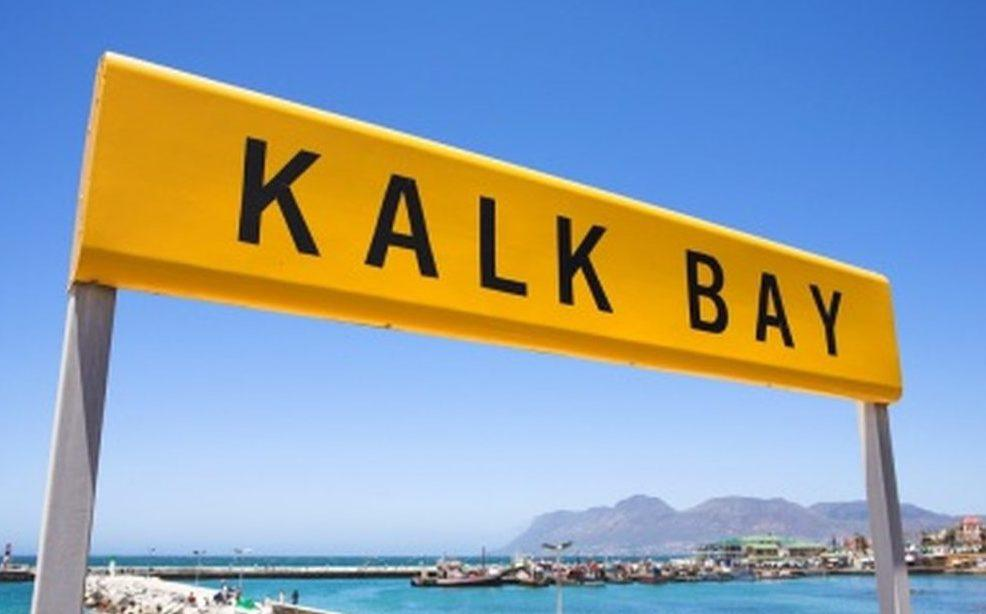 Kalk Bay sign post