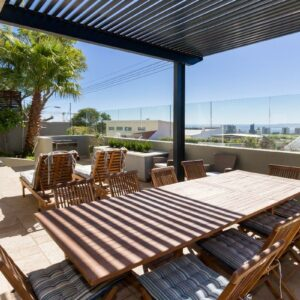 79 High Level - Outdoor seating & sea view