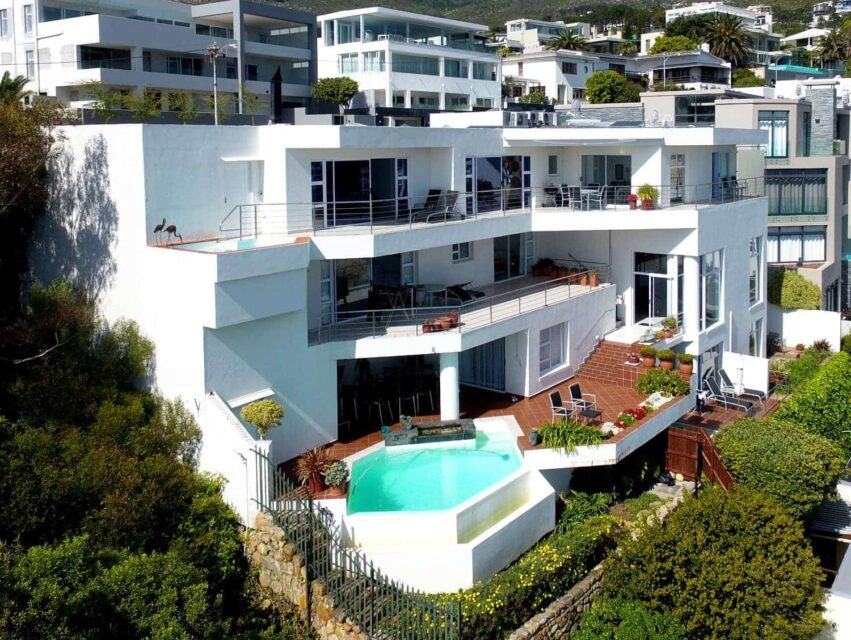 Camps Bay Terrace Penthouse - Drone Image