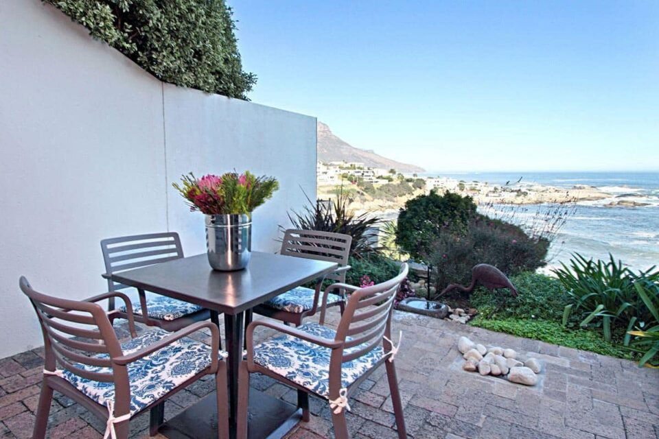 Camps Bay Terrace Suite - Outdoor Dining