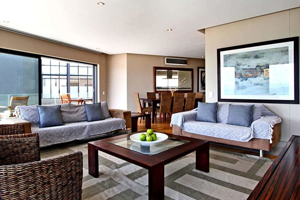 Houghton Heights B - Living Area