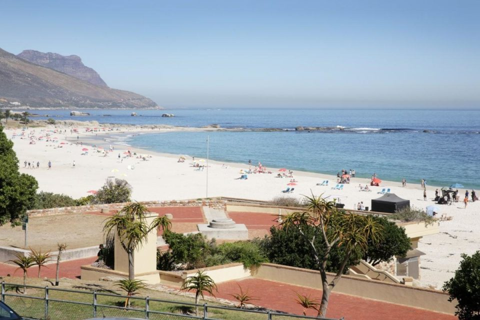 Camps Bay Beach - Beach view