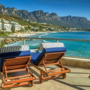 Clifton Rocks - Balcony with Sea & Mountain views