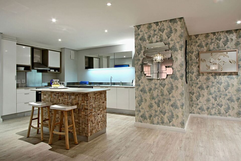 Dunmore Blue - Kitchen & entrance hall