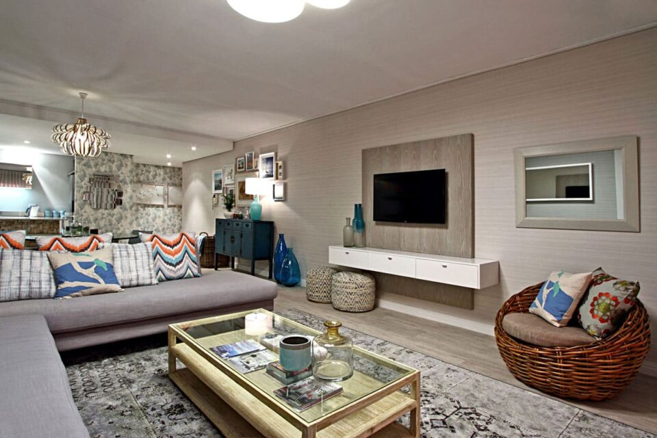 Dunmore Blue - Living & TV area