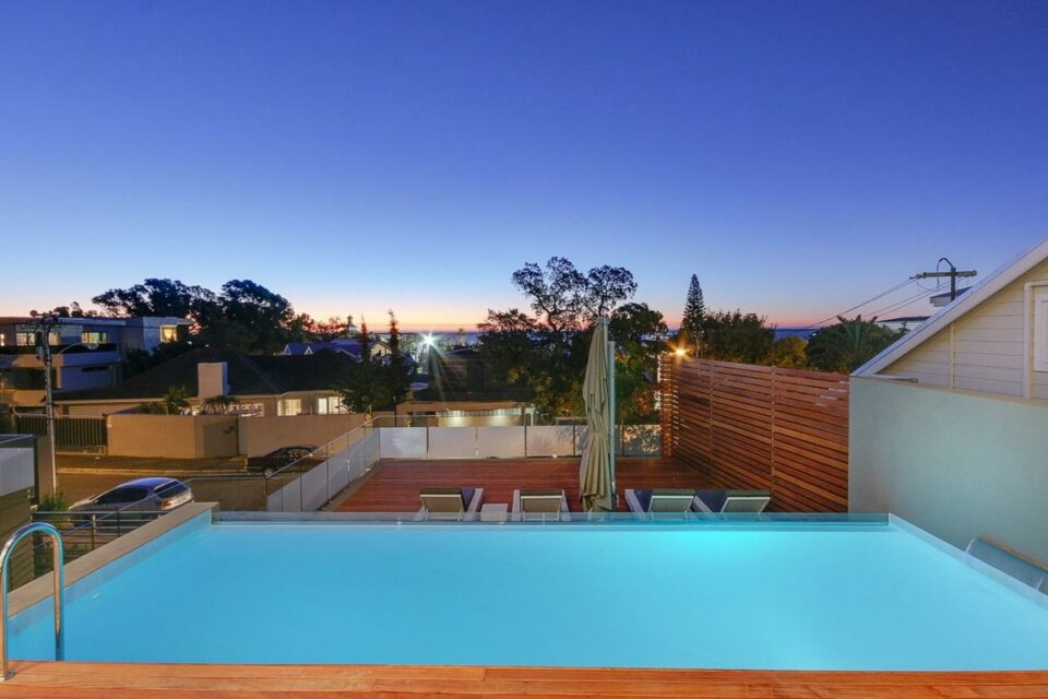 Harrier Place - Exterior Pool View