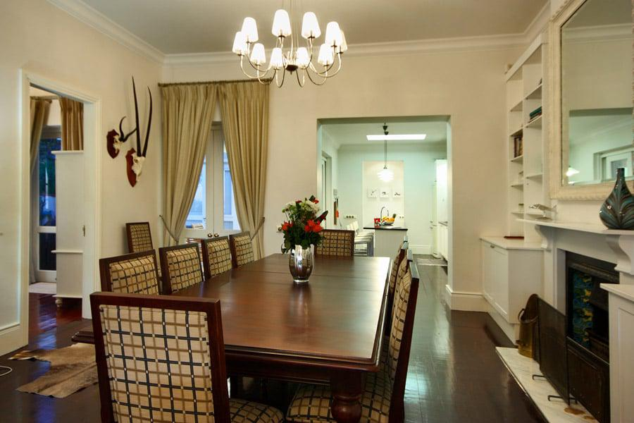 Six Selbourne - Dining area & kitchen