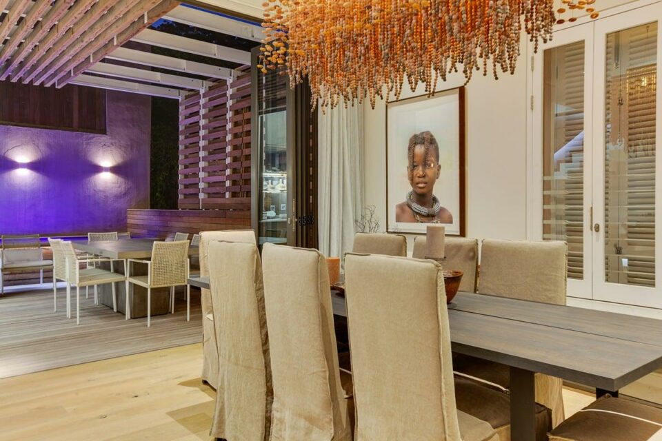 157 Waterkant - Dining area
