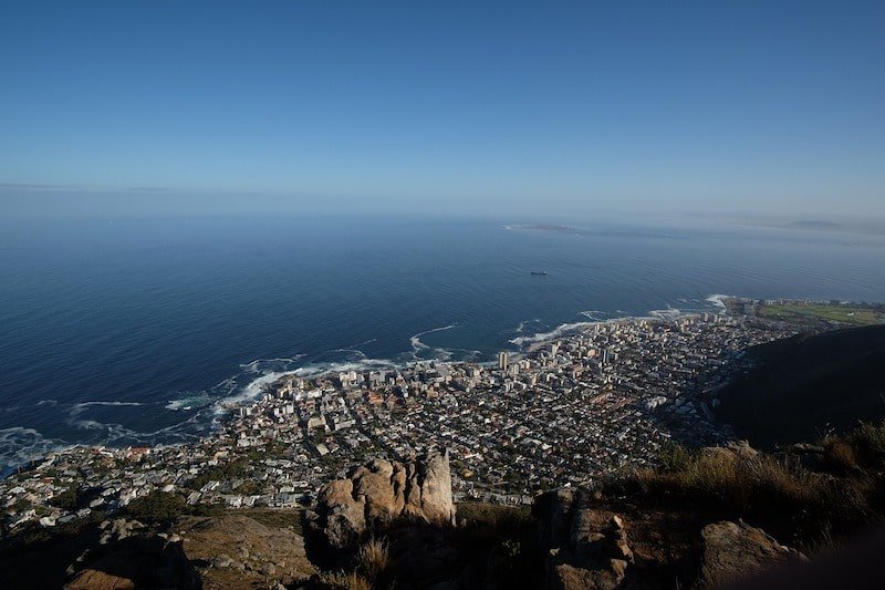 View of Sea Point from Lion's Head