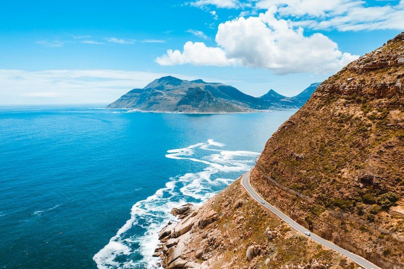 Chapmans Peak Drive on the Cape Peninsula