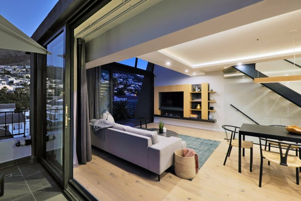 Quendon Penthouse - Living room
