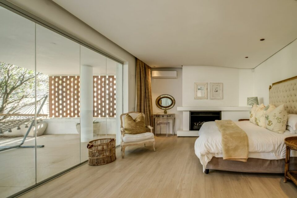 Silvertree - Main Bedroom with Fireplace
