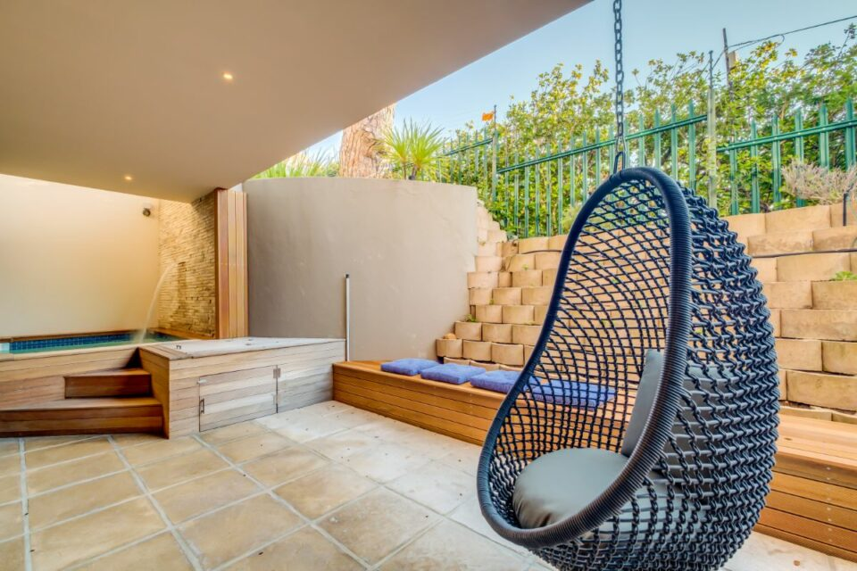 Ocean Pearl - Lower Level Patio and Plunge Pool