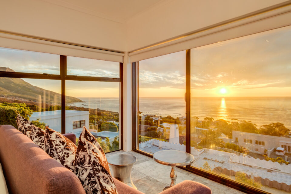 Sunset Views - Views from the master bedroom